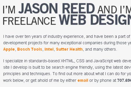 Jason Reed Web Design
