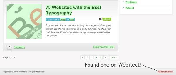 Bad Link Webitect