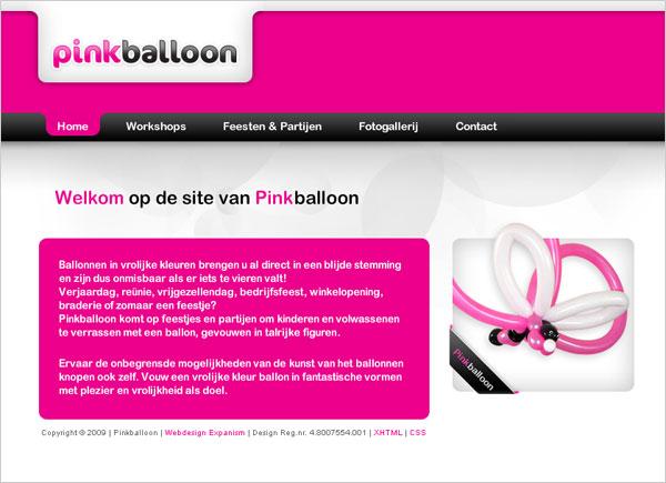 Pink Baloon