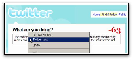 Twitzer