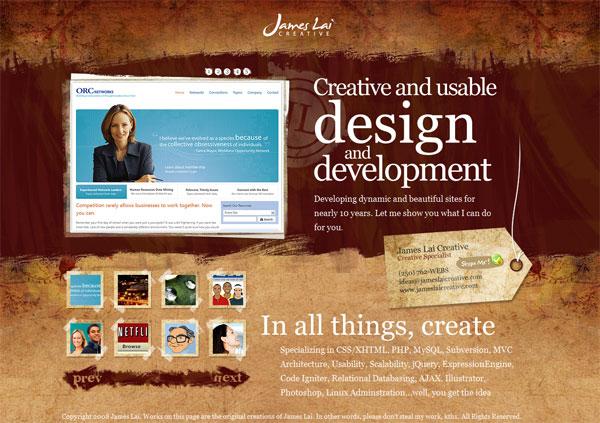 Grunge Web Design