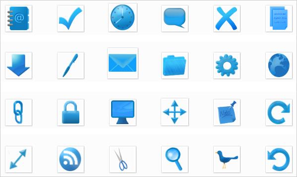 Webitect's Birthday Icons