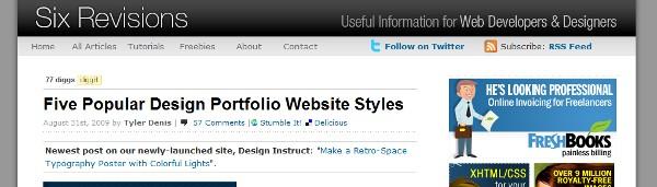 portfolio styles