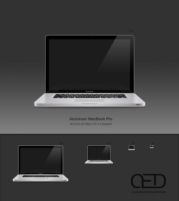 Aluminium MacBook Pro OSX by Constantin Eichstaedt