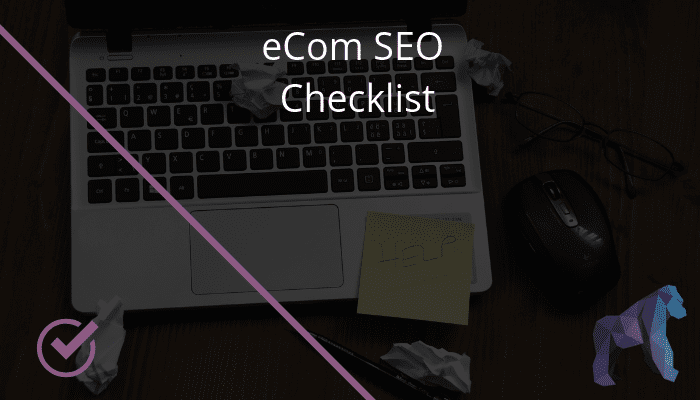 eCommerce SEO Checklist Graphic