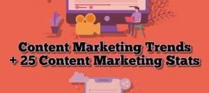 Content Marketing Trends + 25 Statistics
